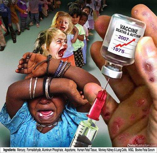 3 - No To Swine Flu Vaccine - لا لمصل انفلونزا الخنازير