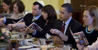 The Obama Seder is Political, but that's ok