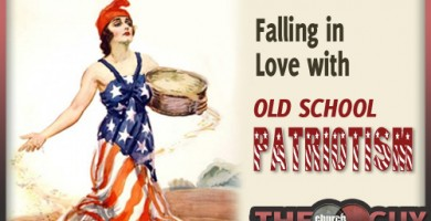 Falling in Love with Old School Patriotism