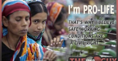 Safe Working Conditions are a Pro-Life Issue