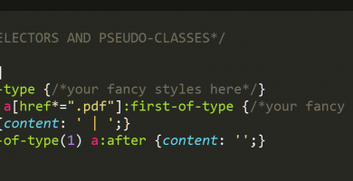 Why I Love CSS Selectors