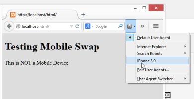 Detecting, Targeting, and Testing Mobile Devices with Javascript