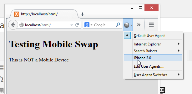 Detecting Mobile Devices with javascript