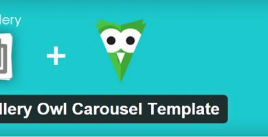FooGallery Owl Carousel