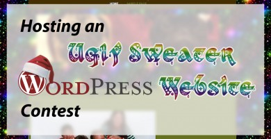 Hosting an Ugly Sweater WordPress Site Party