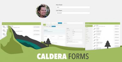Caldera Forms Makes for a Great Profile Editor
