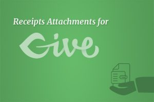 Give Receipt Attachments