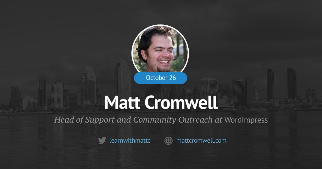 Matt Cromwell AMA on ManageWP.org