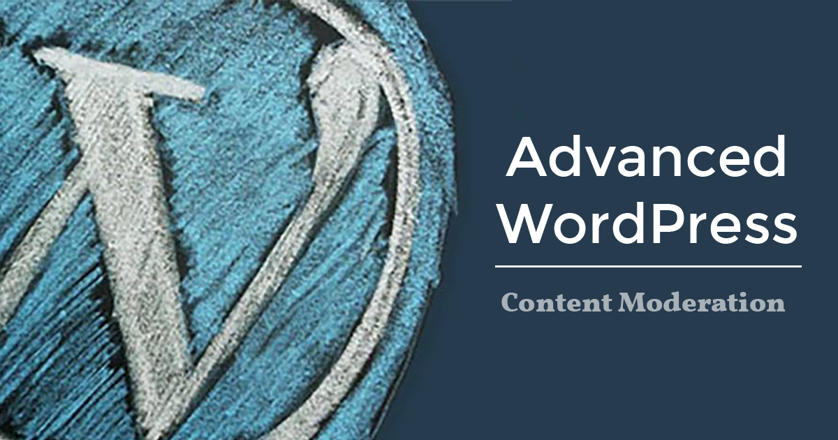 AWP Introduces Content Moderation