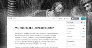 Gutenberg: First Impressions