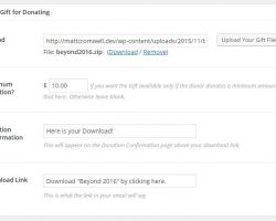 At the bottom of your Give form edit screen you'll find all the settings you need per form.